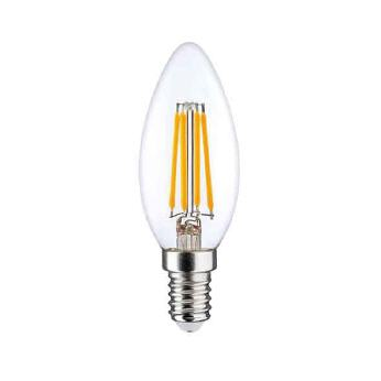 LED Fil. C35 Twist 2,5W-250lm-E14/827